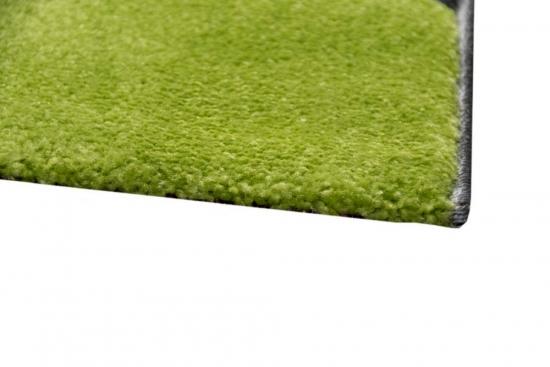 Carpetia designer teppich wohnzimmerteppich wellen grau grün