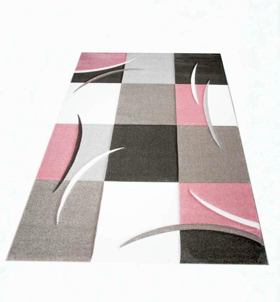 d sign tapis karo pastel rose cr me taupe ebay. Black Bedroom Furniture Sets. Home Design Ideas