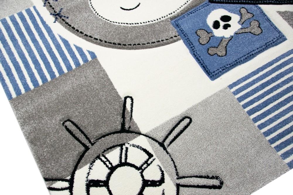 Carpetia.de - Teppich für Kinderzimmer mit Affe, Schiff ...