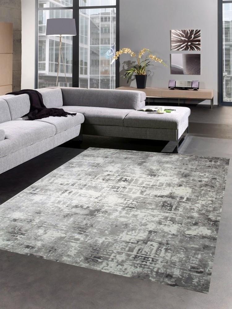 Alfombra de sal n de dise o y alfombra moderna gris beige ebay - Alfombras salon modernas ...