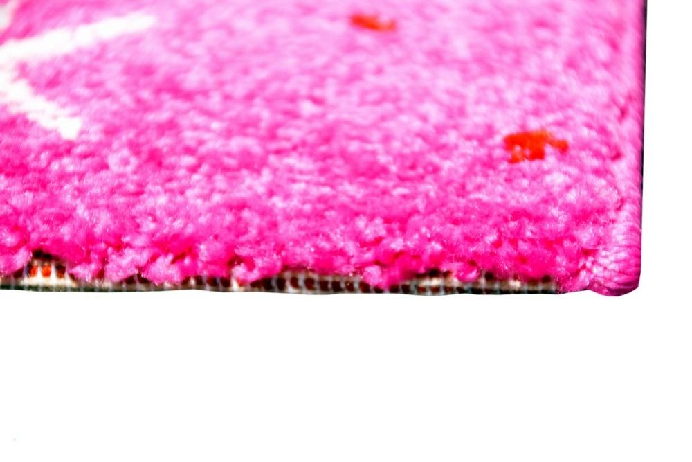 Kinderteppich Spielteppich Kinderzimmer M/ädchen Zauberfee Fee Tinkerbell Pink Gr/ö/ße 80x150 cm